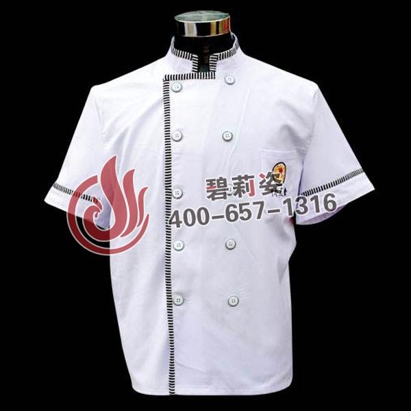 黑色厨师服装图片展示