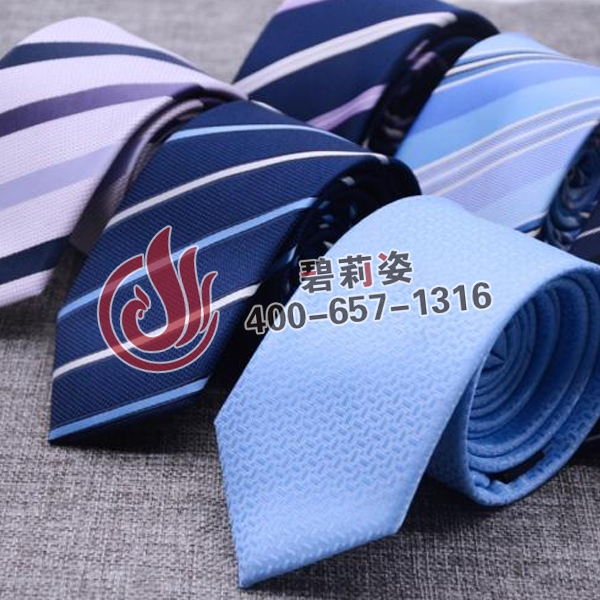 领带定制logo
